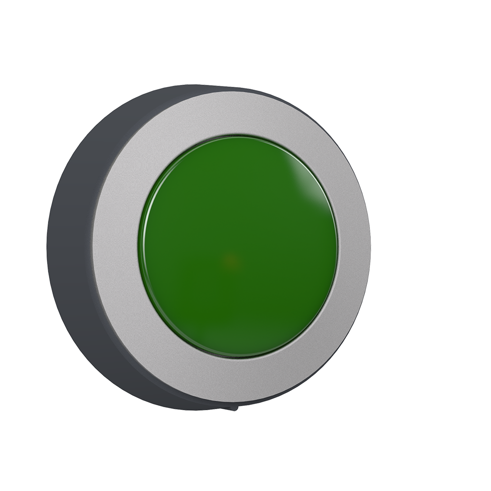 Button Green P4