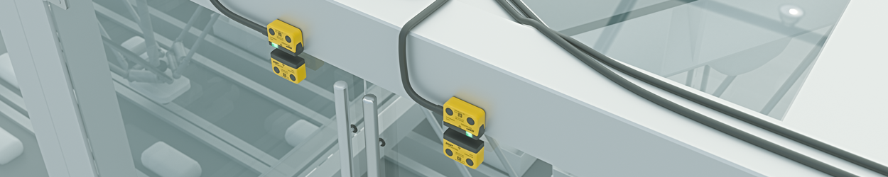 SAFIX mounted on packaging systems
